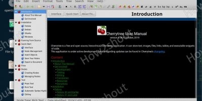 opensuse leap install cherrytree syntax highlighter and note