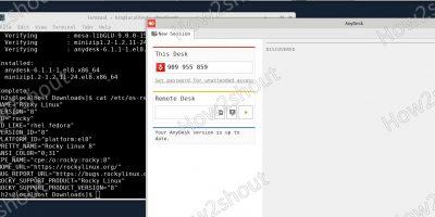 AnyDesk Installation on Rocky Linux 8