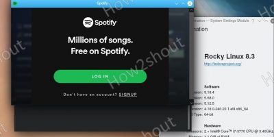 Download and install Spotify on Rocky Linux