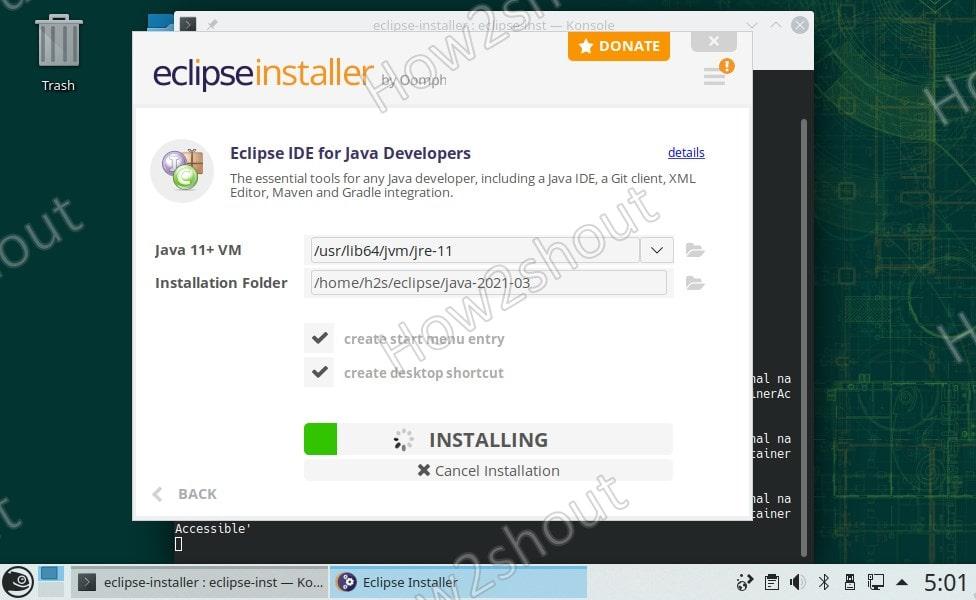 Installing IDE