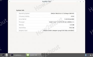 Debian Linux 10 to 11 Bullseye system upgrade interface