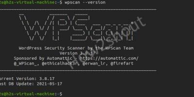 Wpscan check & install Ubuntu 20.04 version