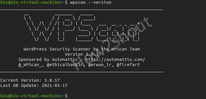 Wpscan installation on Ubuntu Linux