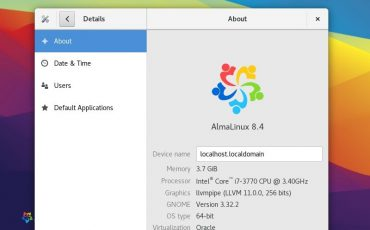 install Gnome GUI on AlmaLinux 8