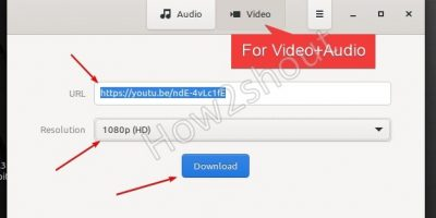 Download youtube videos in video format linux mint 20.1