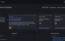 Grafana Dashboard installed on AlmaLinux or Rocky Linux 8