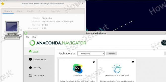 Install Anaconda Navigator on Debian 11 or 10