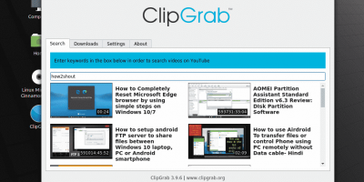 Install Clipgrab youtube downloader on Linux Mint with desktop shortcut
