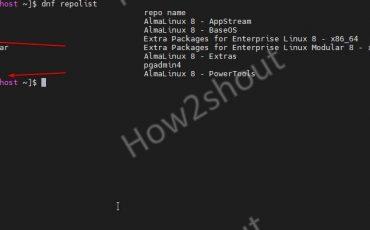 Install EPEL Powertools on AlmaLinux