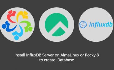 Install InfluxDB on AlmaLinux or Rocky 8 to create database