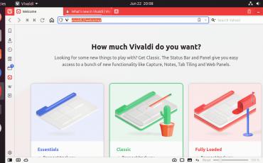 Run Vivaldi Linux browser