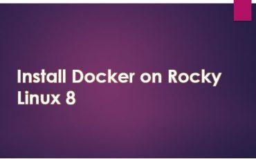 Steps to install Docker CE on Rocky Linux 8 min