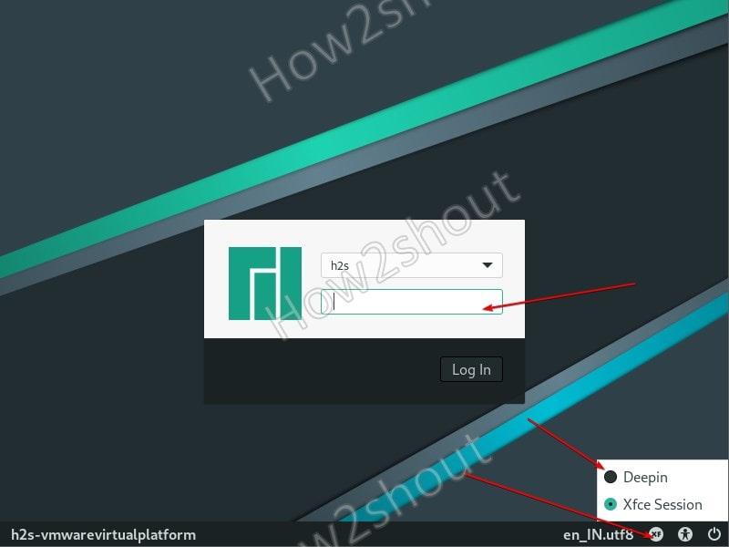 Switch Manjaro Desktop XFCE GUI
