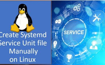 create a Systemd service unit file in Linux min