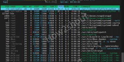 using htp on RPM AlmaLinux rocky or centos 8