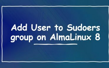 Add User to Sudoers or wheel group on AlmaLinux 8 min