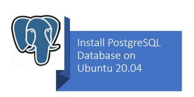 Install PostgreSQL on Ubuntu 20.04 Linux servers or Desktop systems min