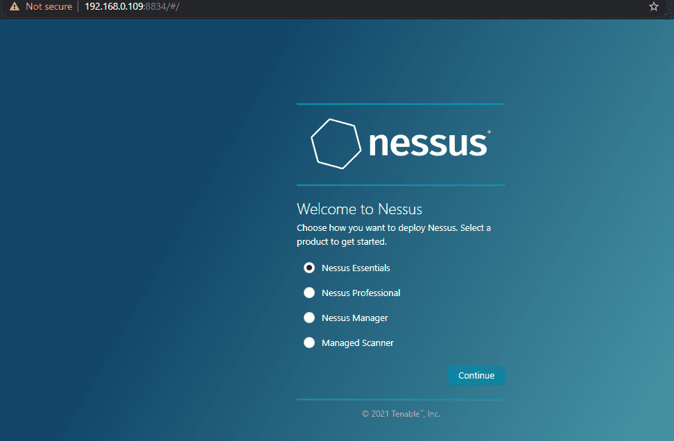 Nessus product selection essentials and proffesional