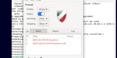Debian 11 UFW firewall GUI interface GUFW