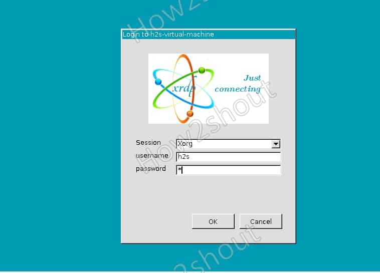 XRDP login to access remote Linux system