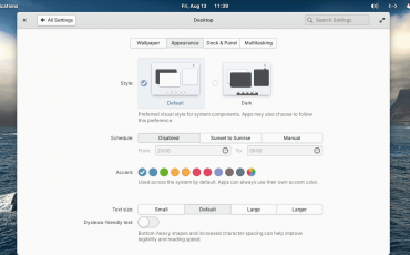 Elementary 6 OS new look and download ISO
