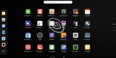 Gnome Desktop installation screenshot Linux Mint