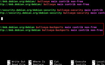 Install Backports Repository to Debian 11 bullseye Linux