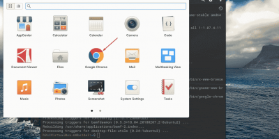 Install Chrome browser Elementary OS 6 Odin