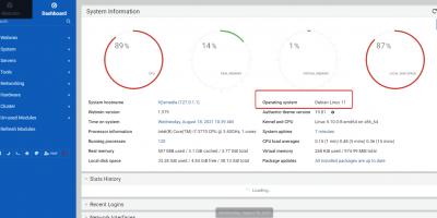 Install Webmin cpanel on Debian 11 server