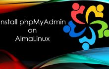 Install phpMyAdmin on AlmaLinux 8 with Apache min