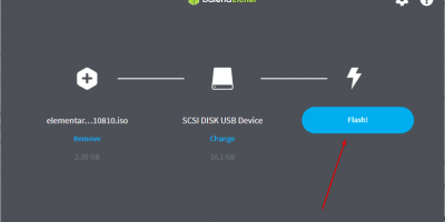 create Elementary OS 6 bootable USB drive