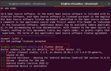 Flutter installed Ubuntu 20.04