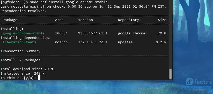 Install Chrome stable Linux