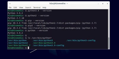 Install Python 3 or 2.7 on Debian 11 Bullseye Linux