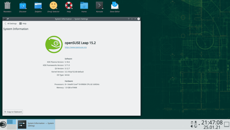 OpenSUSE Best Business Linux