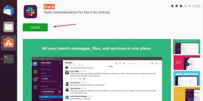 Slack Team Communication Software center Ubuntu