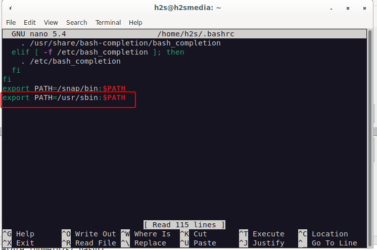 Add ifconfig to system path