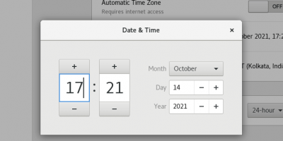 Adjust Time and date Rocky linux