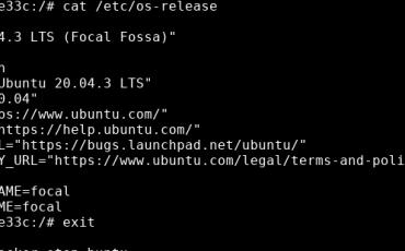 Test Docker on Alpine Linux