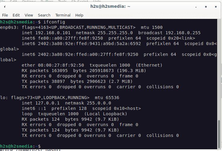 ifconfig installation on Debian 11 or 10 linux