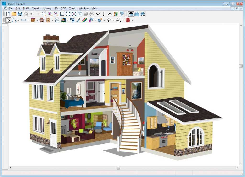 11 free and open source software for architecture or cad for Home design 3d gratis italiano
