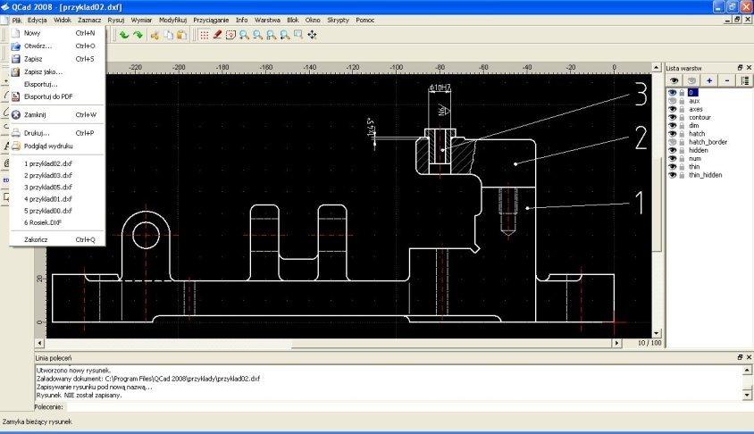 QCAD - 2D Architecture