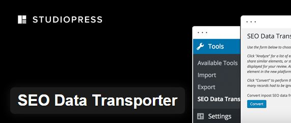 Transfer SEO Settings of Old Theme with SEO Data Transporter