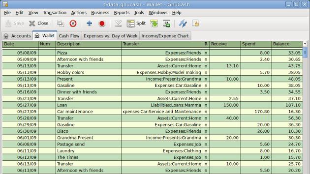 GnuCash_012 accounting software