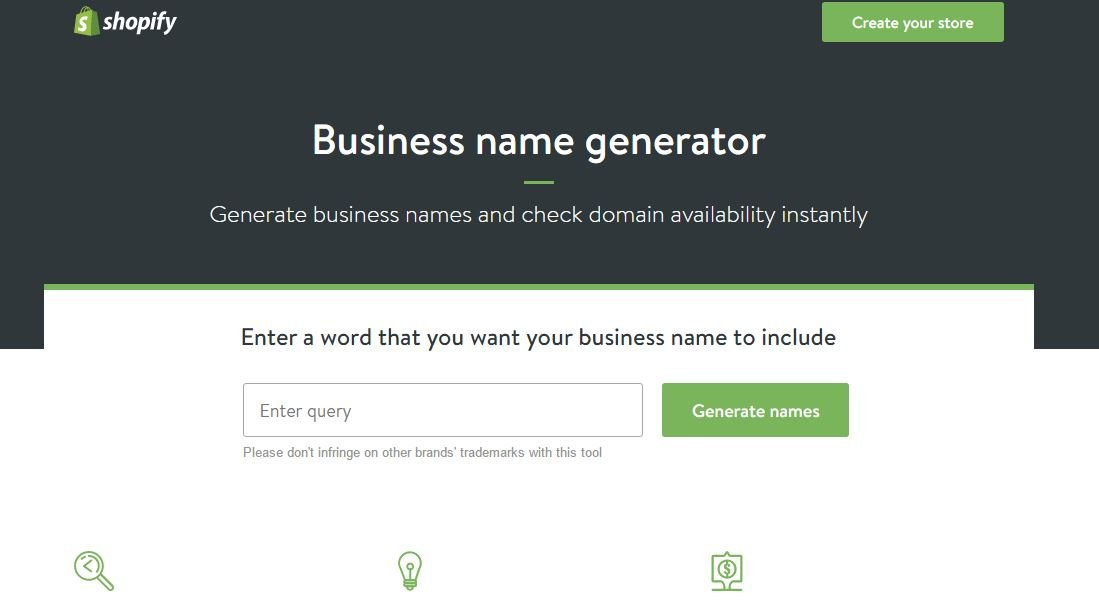 Ify Business Name Generator