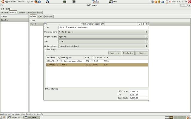 frifinans accounting software