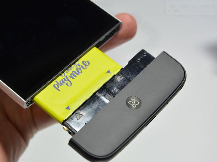 LG G5 modular