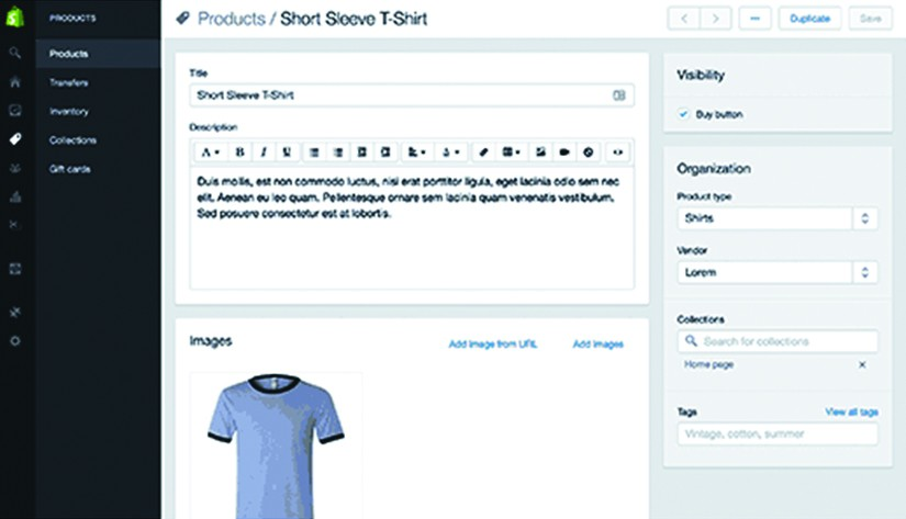 Wordpress to shopify