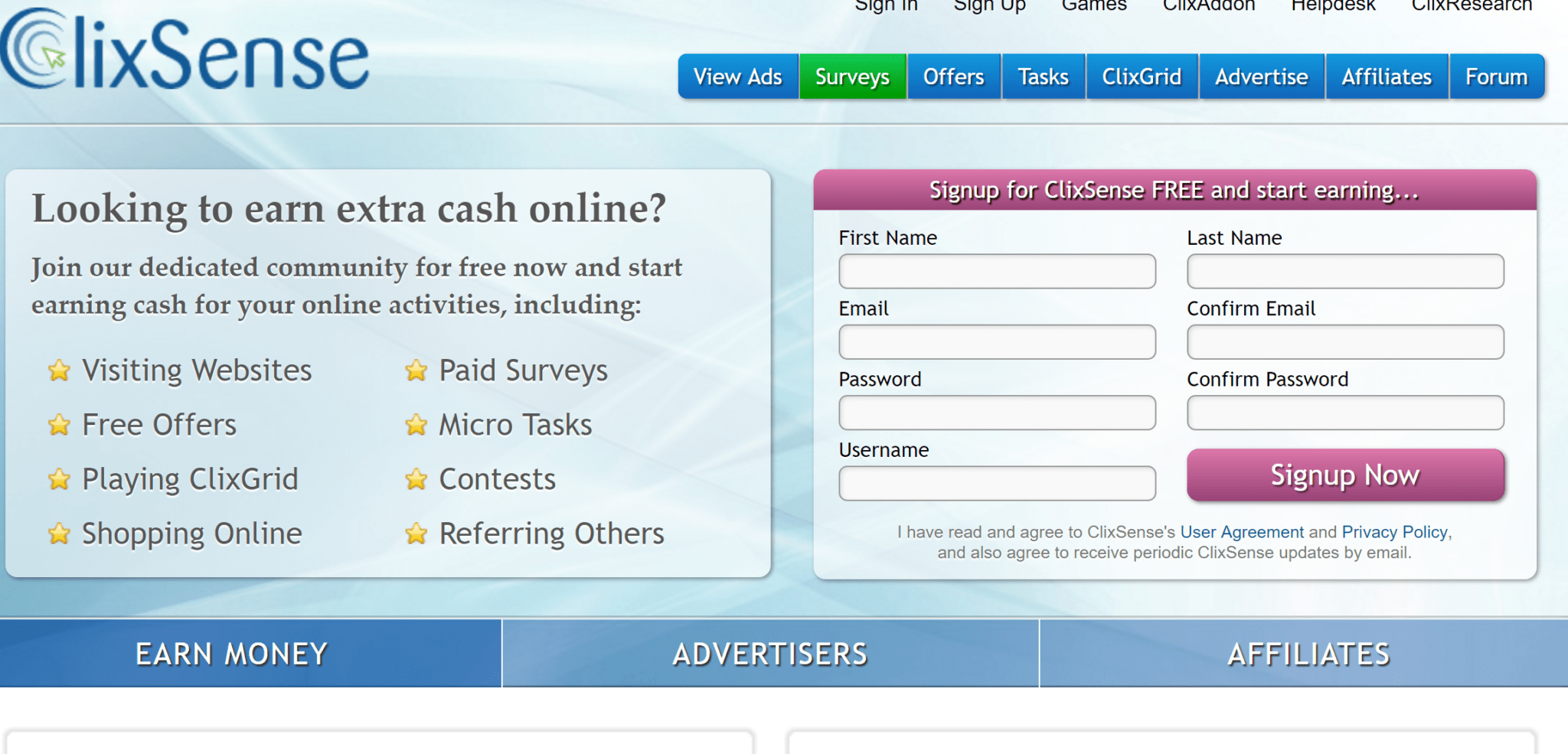 Real money earning sites