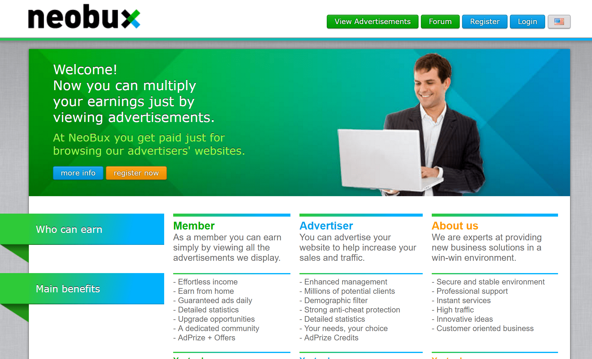 click ads and earn money best ptc sites pay to click how2shout neobux ptc ads sites